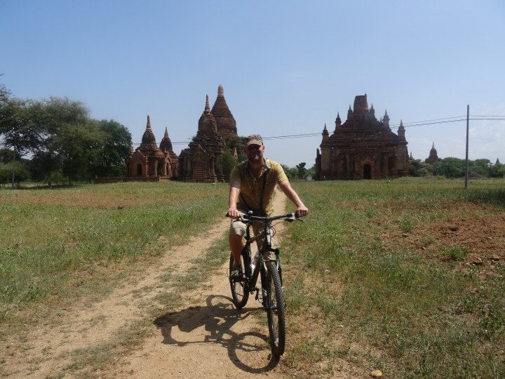 Cycling in Bagan - insidevietnam Tours