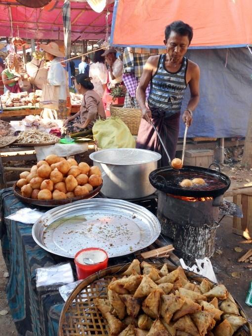 Local cooking - InsideBurma Tours