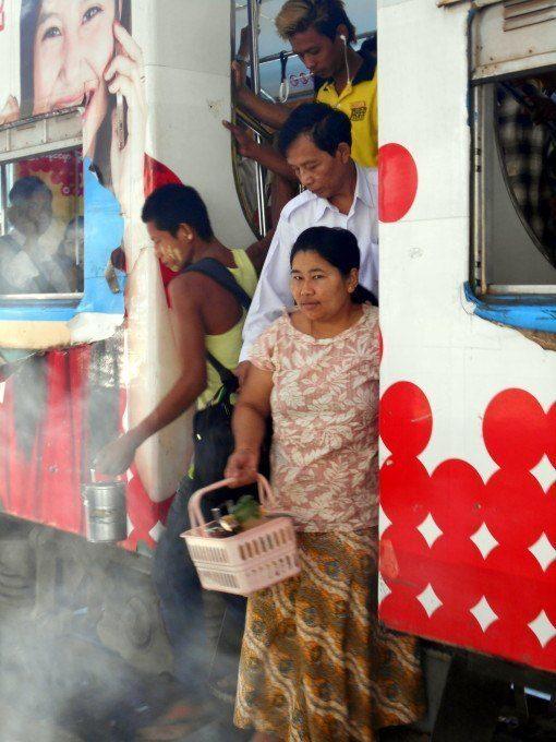 Yangon railway - InsideBurma Tours