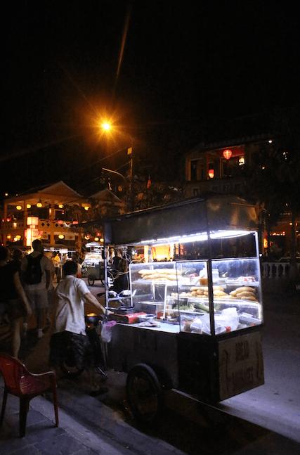 Street food seller