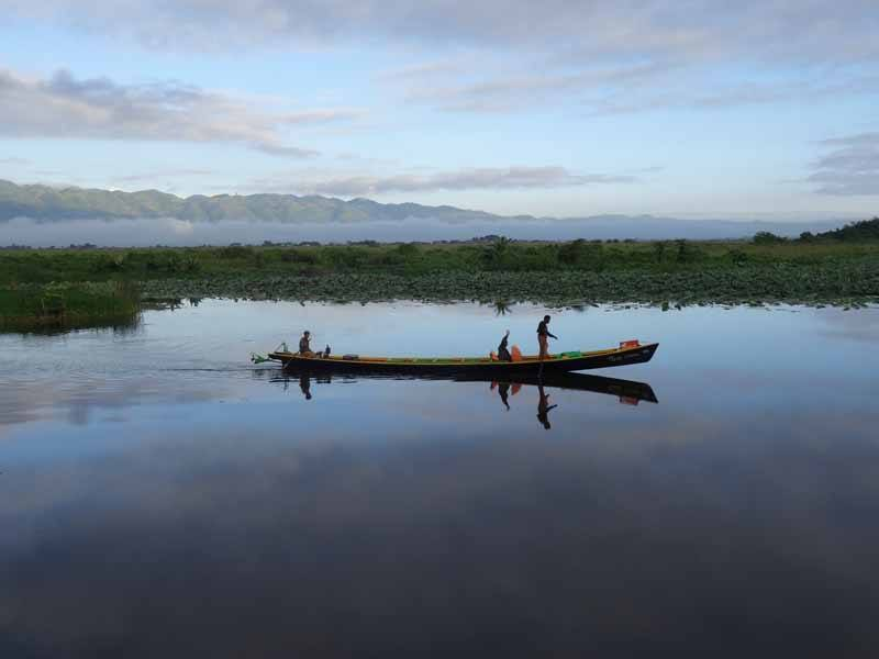Stunning Inle Lake - all the better for the rains