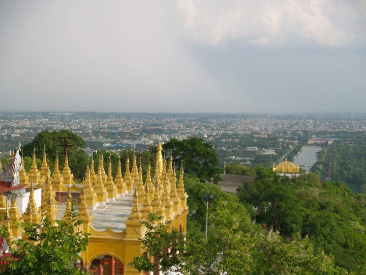 The View from Mandalay Hill InsideBurma Tours