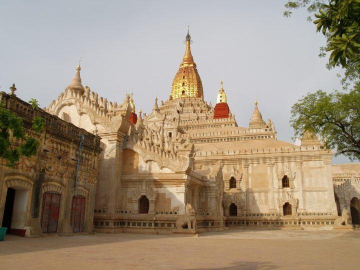Shwezigon Pagoda, Bagan InsideBurma Tours