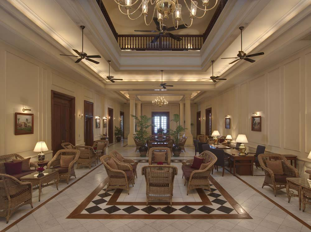 Take high tea at the Strand Hotel
