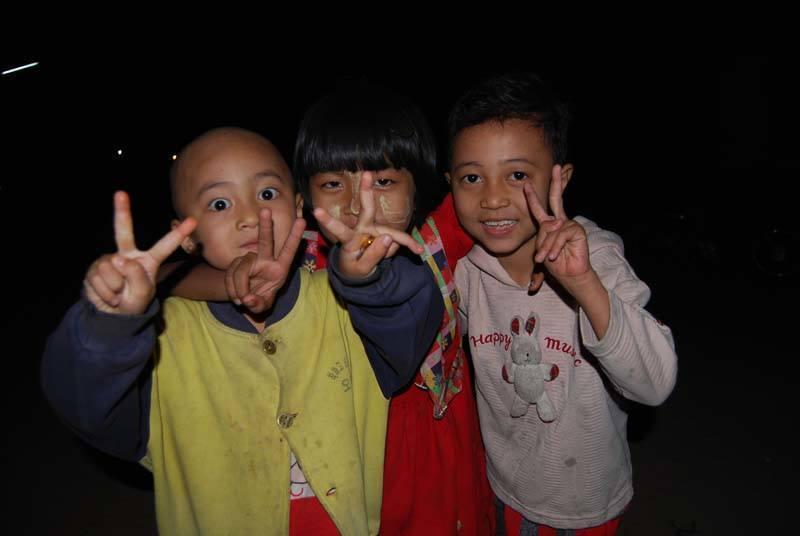 Kids in Burma