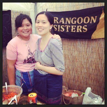The Rangoon sisters themselves (Photo: rangoonsisters.wordpress.com)