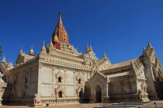 One of Bagan's beautiful temples