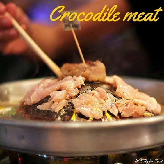 Crocodile meat (Photo: Goats on the Road)