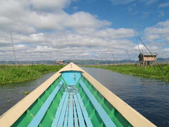 Exploring Inle Lake by boat is sure to delight children