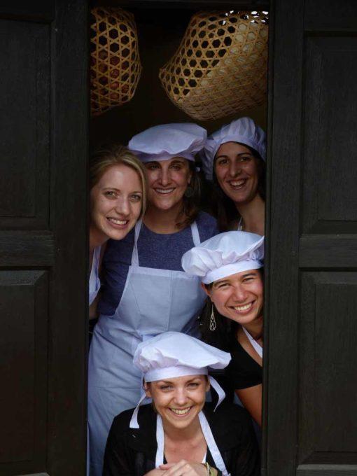 Cooking school in Pindaya