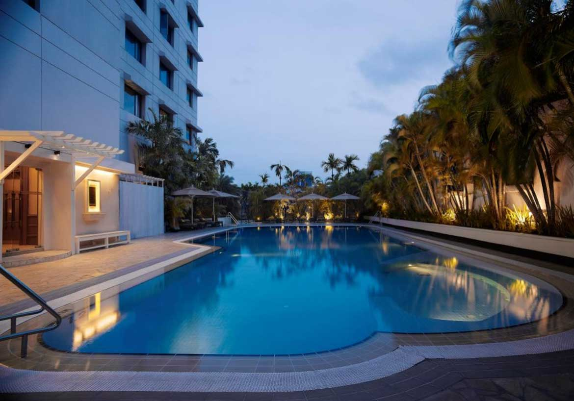 The Shangri-La in Yangon offers a child-friendly pool, buffet meals, a kids menu - and up to two children under six stay for free.