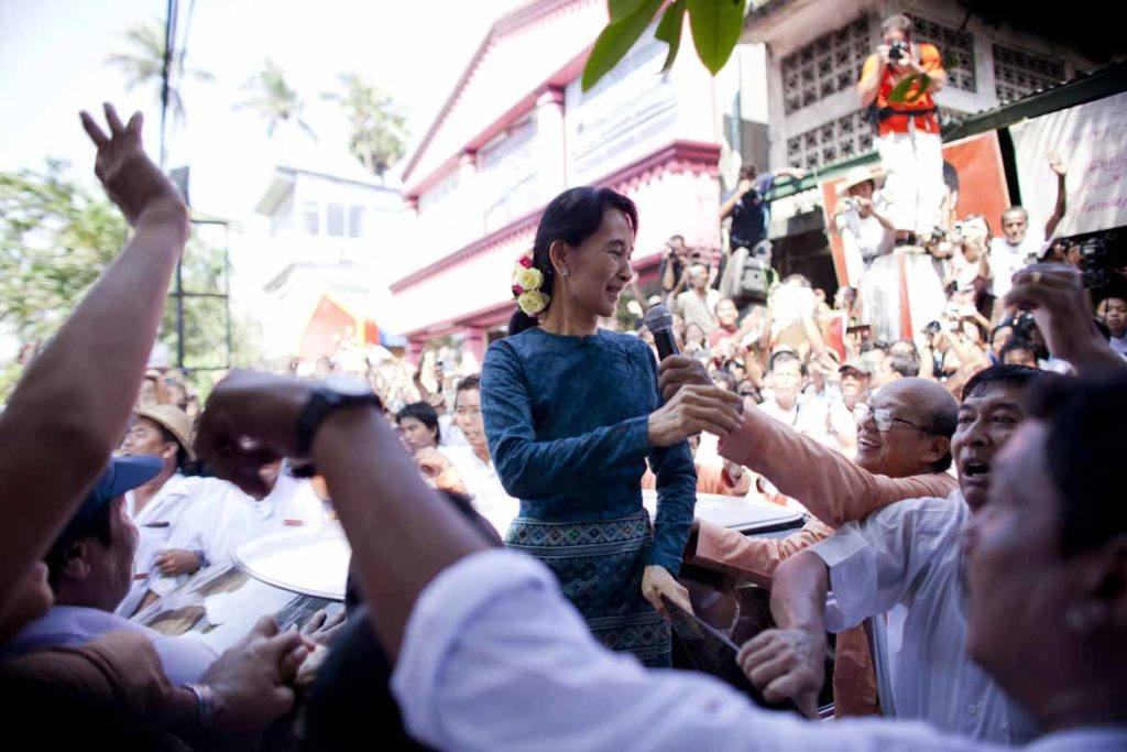 Aung San Suu Kyi has spoken out against Burma's antiquated anti-gay laws
