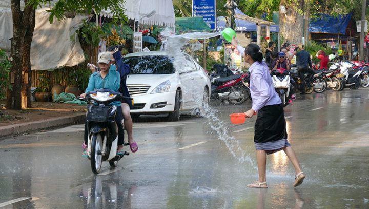 Pi Mai/Songkran (New Year) Laos