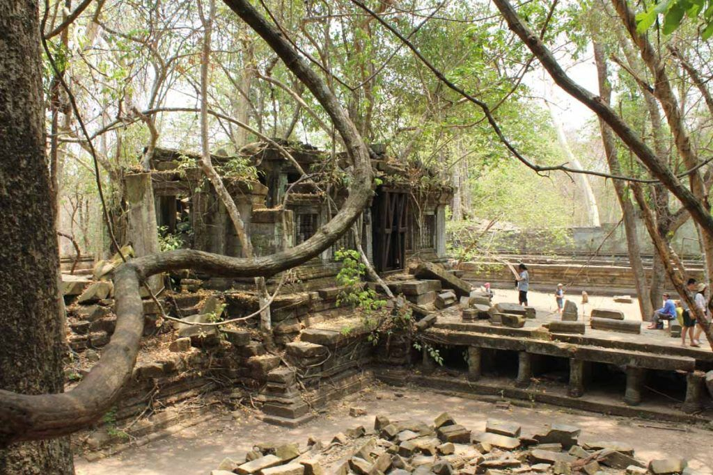 Beng Mealea in Siem Reap province was once part of a large and thriving Angkorian settlement