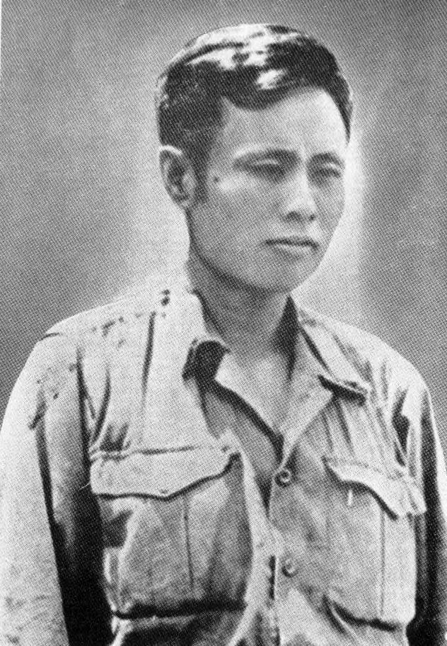 Aung San in Burmese army uniform