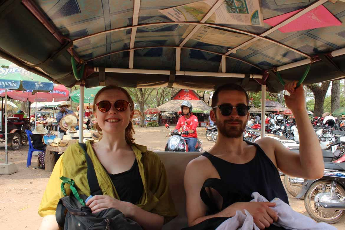 Puttering around at Angkor Wat