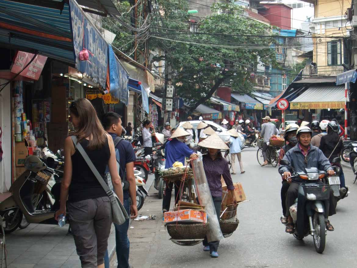 Hanoi's old quarter was once a thriving centre for arts and crafts