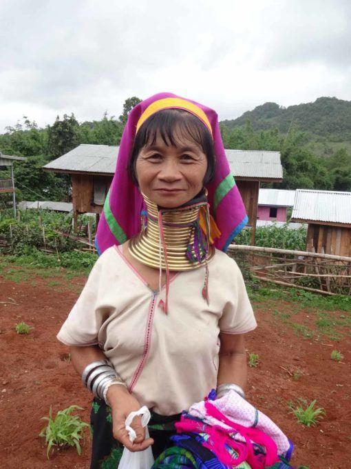 A Kayan woman in Panpet Village