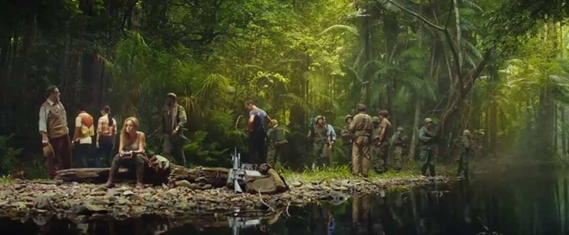 The cast of Kong in the jungle