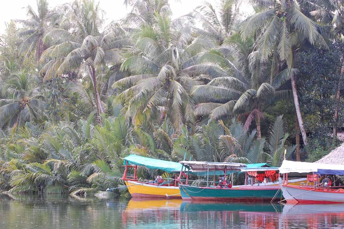 Boats on the Tatai River