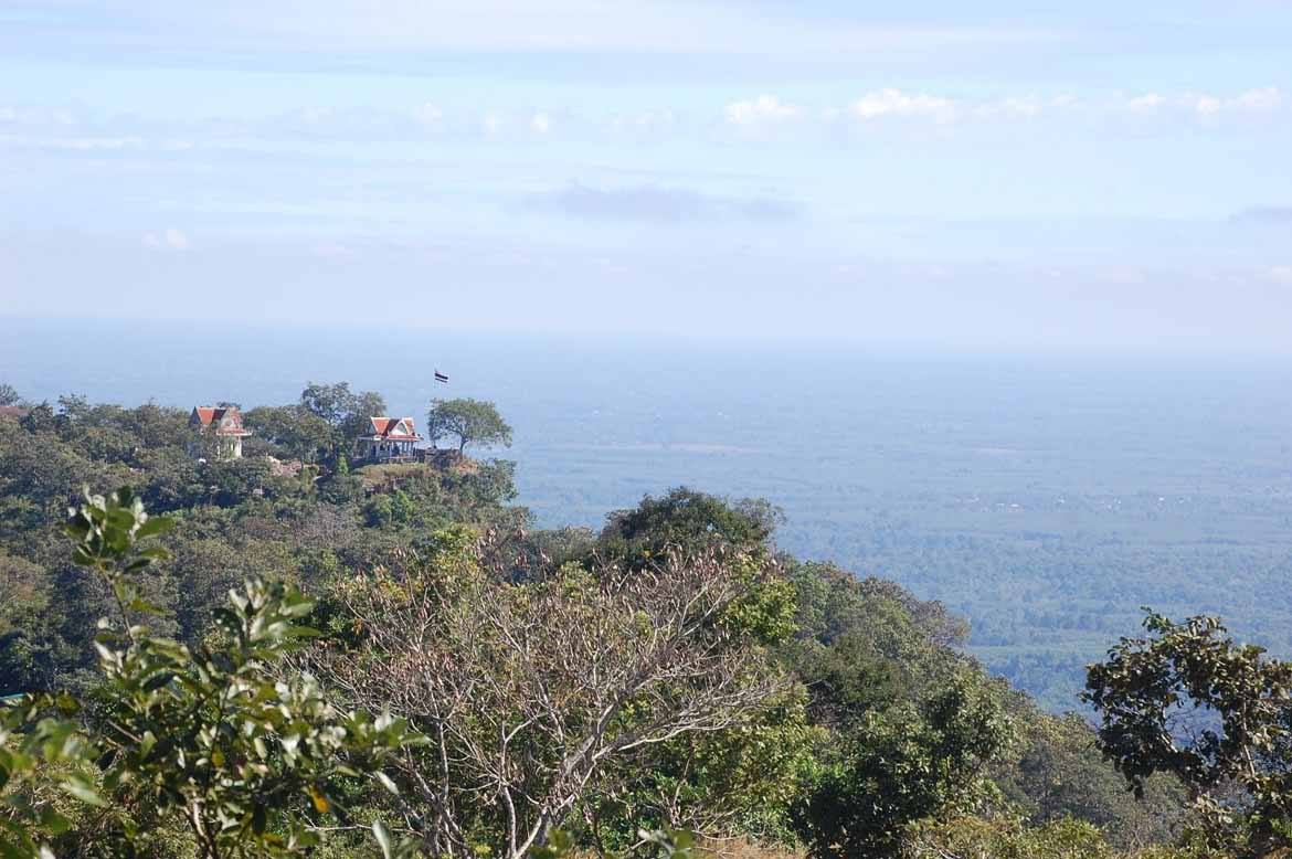 Beautiful views at Preah Vihear