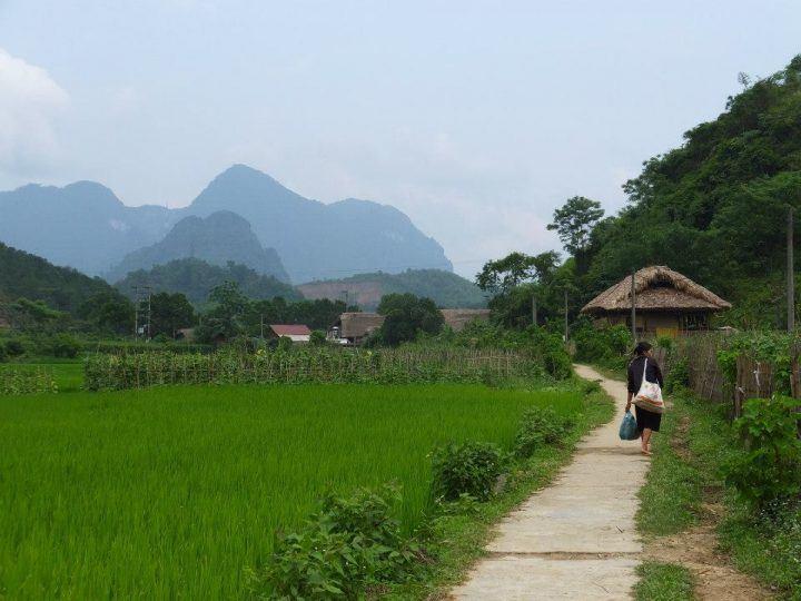 Flat terrain in Ha Giang
