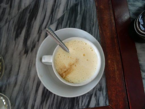 Egg coffee - a delicacy in Vietnam