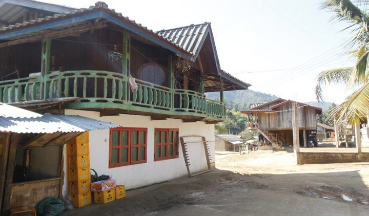 Stay at a homestay whilst hiking in Laos
