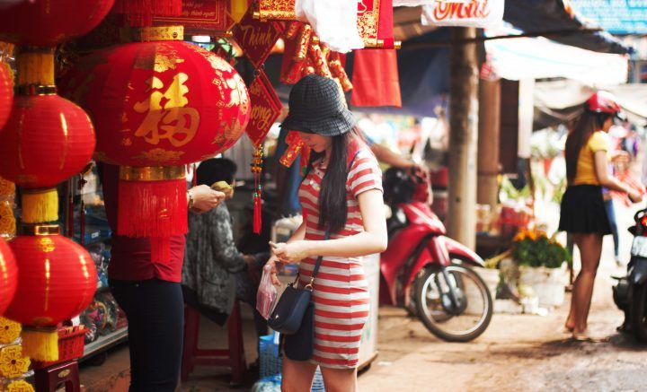 Lanterns in Hoi An, festivals in Vietnam
