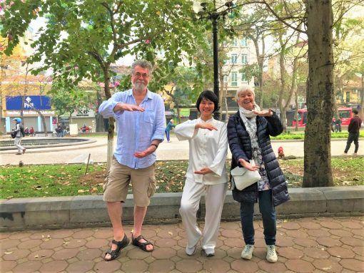 Tai chi in Hanoi