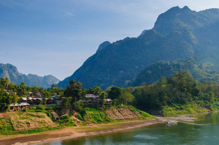 Nong Khiaw, Nam Our River, Laos