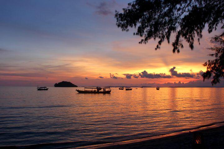 Otres 2 beach, Sihanoukville, Cambodia