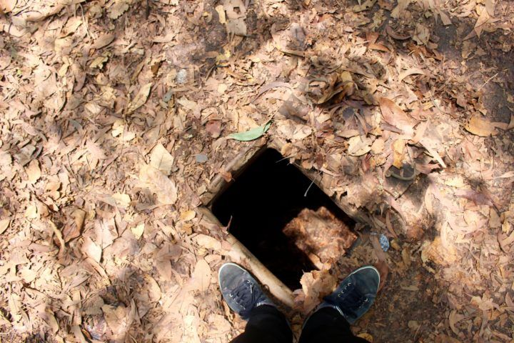 Entrance to Cu Chi Tunnels