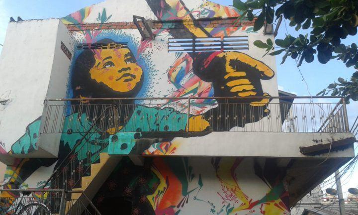 Street art in Cambodia