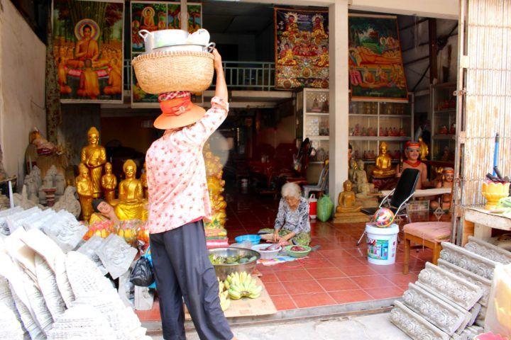 Phnom Penh backstreets