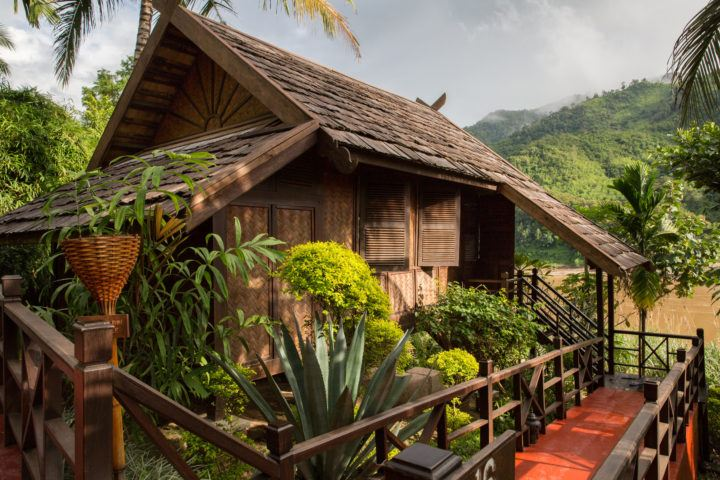 Luang Say Lodge, Laos, on the Mekong