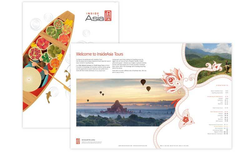 InsideAsia Tours new brochure