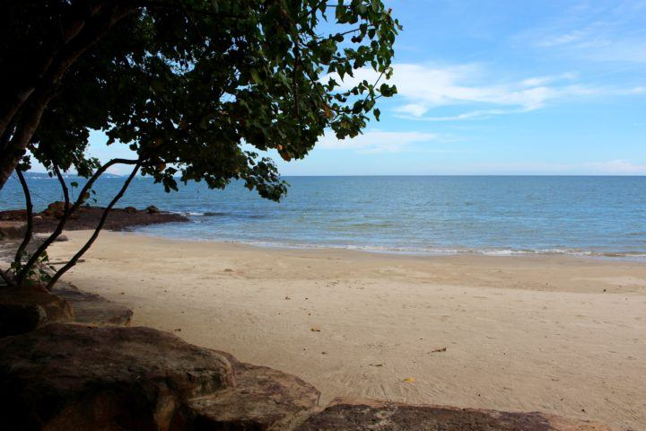Beach at Green Bay Resort in Phu Quoc