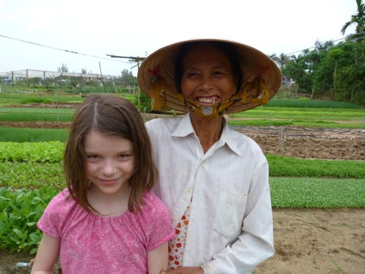 Local farmer in Vietnam