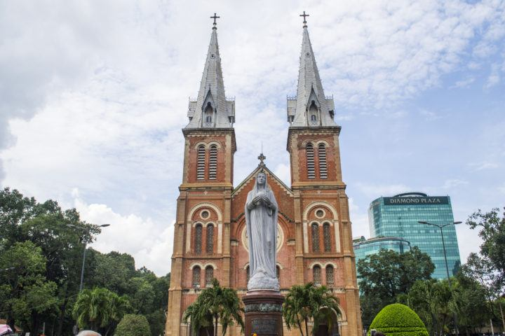 Notre Dame Cathedral Ho Chi Minh City (Saigon)