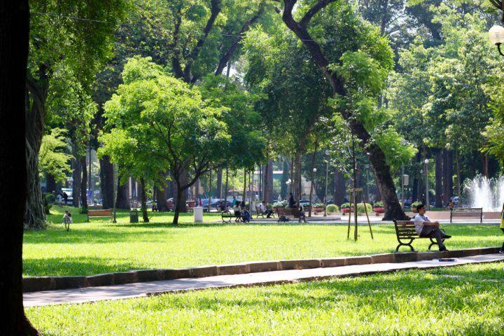 Tao Dan Park Ho Chi Minh City