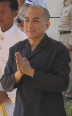 King Norodom Sihamoni, Cambodia