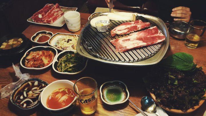 South Korean barbecue
