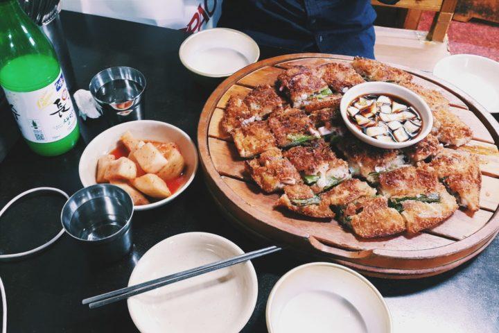 pajeon south korean food