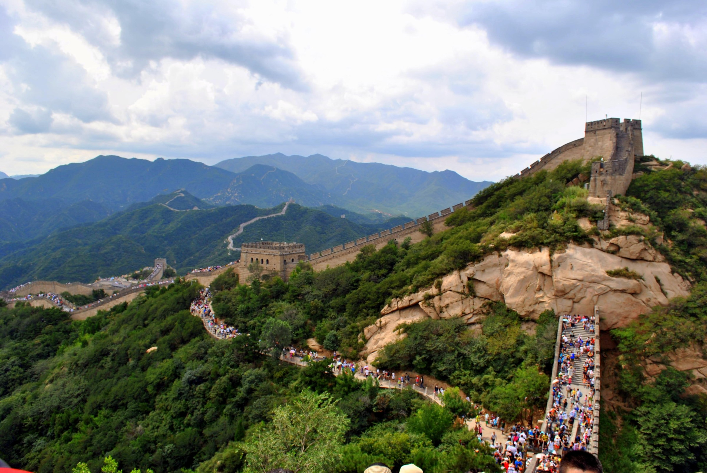 where to see the great wall of china